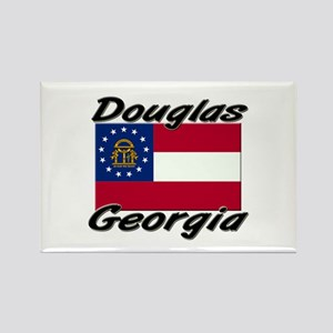 Douglas Georgia Rectangle Magnet