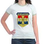 USS Belleau Wood (LHA 3) Jr. Ringer T-Shirt