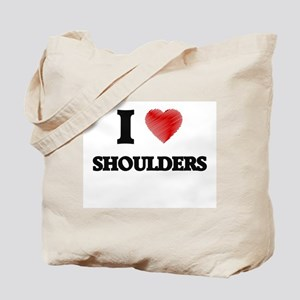 I Love Shoulders Tote Bag