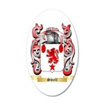 Shiell 20x12 Oval Wall Decal