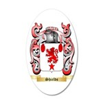 Shields 35x21 Oval Wall Decal