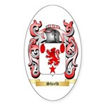 Shield Sticker (Oval)