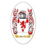 Shield Sticker (Oval 10 pk)