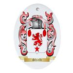 Shield Oval Ornament
