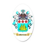 Shevlans Oval Car Magnet