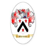 Sherwood Sticker (Oval 50 pk)