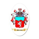 Sherwin Oval Car Magnet