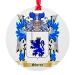 Sherry Round Ornament