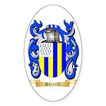 Sherrill Sticker (Oval 50 pk)