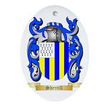 Sherrill Oval Ornament