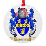 Sherriff Round Ornament