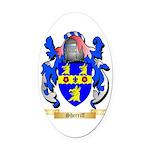 Sherriff Oval Car Magnet