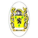 Sherman Sticker (Oval 10 pk)
