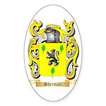 Sherman Sticker (Oval 50 pk)
