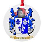 Sherlock Round Ornament