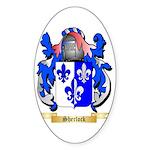 Sherlock Sticker (Oval 50 pk)