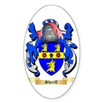 Sheriff Sticker (Oval 50 pk)