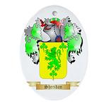 Sheridan Oval Ornament