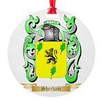 Sherham Round Ornament