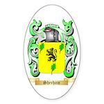Sherham Sticker (Oval 50 pk)