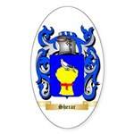 Sherar Sticker (Oval 50 pk)