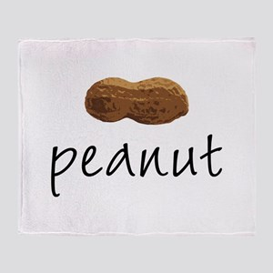 Peanut Throw Blanket