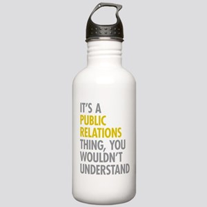 Public Relations Stainless Water Bottle 1.0L