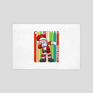 Christmas Dab Party Gifts. Dancing San 4' x 6' Rug