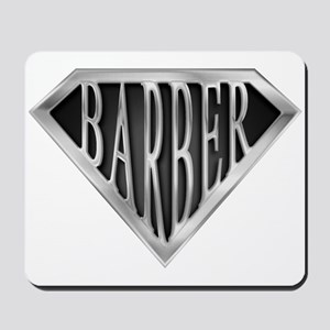 SuperBarber(metal) Mousepad