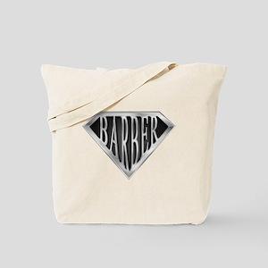 SuperBarber(metal) Tote Bag