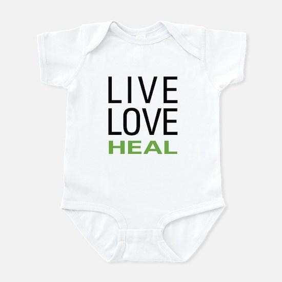Live Love Heal Infant Bodysuit