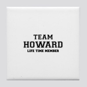 Team HOWARD, life time member Tile Coaster