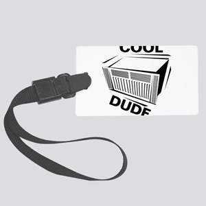 Cool Dude Large Luggage Tag