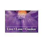 Garden Iris - Live Love Garden Magnets