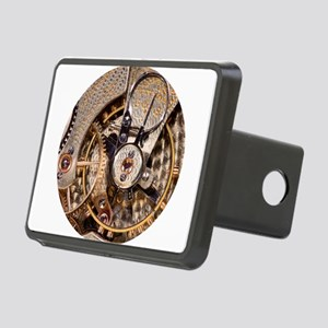Antique Pocket Watch Rectangular Hitch Cover