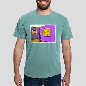 Heisenberg Department of Physics color cartoon. T-