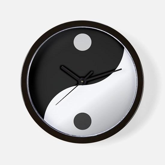 Cute Eastern philosophy Wall Clock