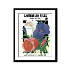 Seed Packet 3 Framed Panel Print