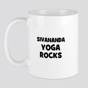Sivananda Yoga Rocks Mug