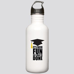 Been Fun Now Done Stainless Water Bottle 1.0L