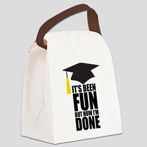 Been Fun Now Done Canvas Lunch Bag