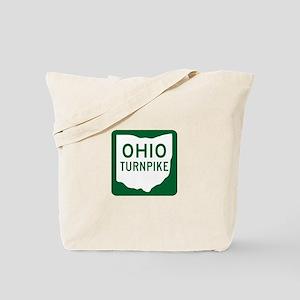 Ohio Turnpike Tote Bag