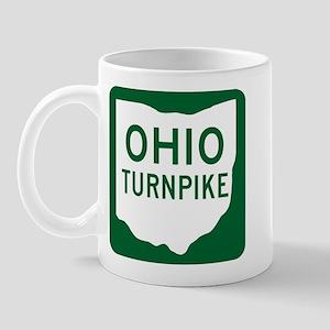 Ohio Turnpike Mug