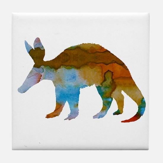 Aardvark Tile Coaster