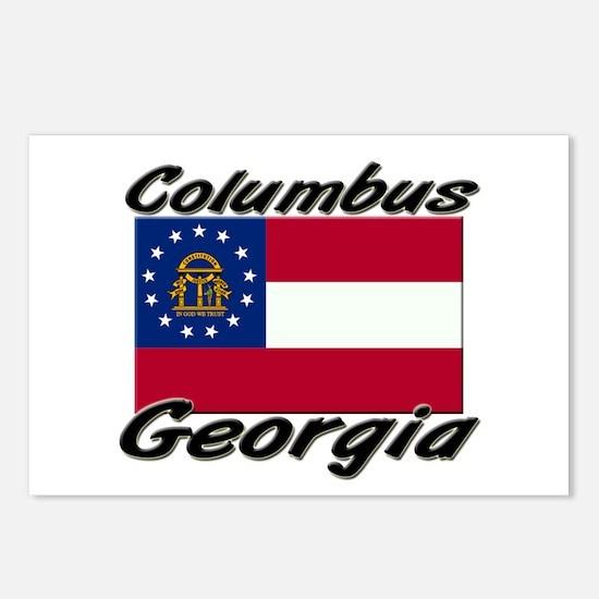 Columbus Georgia Postcards (Package of 8)