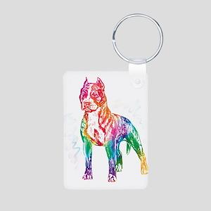 American Staffordshire Terrier Keychains
