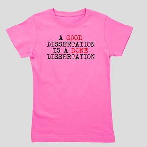 Dissertation Girl's Tee