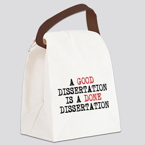 Dissertation Canvas Lunch Bag