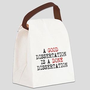 Dissertation Canvas Lunch Bag
