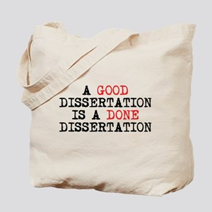 Dissertation Tote Bag